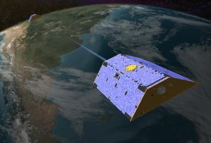 Eye in the sky:The US/German GRACE satellite mission measures changes in gravity to determine how reservoirs and glaciers are altering. (Image: NASA/JPL-Caltech)