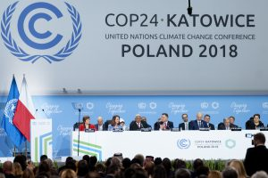 Poorer countries say rich countries should pay more to deal with the impacts of heat waves, droughts, storms and floods (Image: cop24.gov.pl )