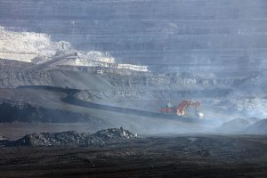 china coal consumption is on the rise. A open-pit mine  (Image: Alamy)