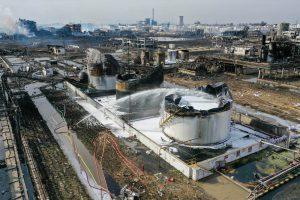Chenjiagang industrial park, Xiangshui, Jiangsu province (Image: