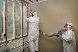 All urethane-type insulation, including spray polyurethane, was produced with CFC-11 until recently (Image: JG Photography / Alamy)