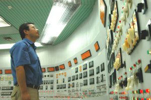 The control room of the Qinshan Nuclear Power Plant, China (Image: Petr Pavlicek/IAEA)