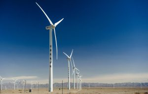 Wind farms in Xinjiang province  (Image: Alamy)