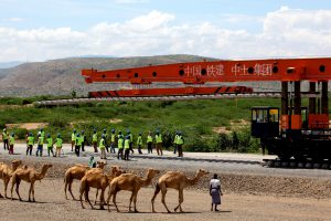 The Ethiopia-Djibouti railway cost about $4 billion and has cut travel time from Addis Ababa to Djibouti port from three days to under 12 hours (Image: Alamy)