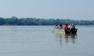 Communities in Peru that depend on the river for fish and transport say the Amazon Waterway project could affect their livelihoods (Image: Anna & Michal)