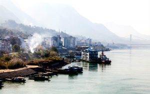 Shortages of water in theYangtze river basinare largely the result of industry and a focus on development(Image: Alamy)