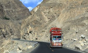 The Karakoram Highway, also known as the China-Pakistan Friendship Highway (Image: Alamy)