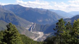 South to North river diversion project. The upper Yangtze (Image:International Rivers)