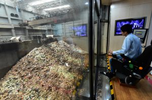 A waste-to-energy incinerator in Nanjing, Jiangsu province (Image: Alamy)