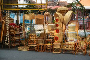 Chinese consumers associate bamboo with crude handmade products. (Image: Alamy)