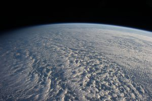 Stratocumulus clouds above the Pacific ocean north of Japan (Image: NASA)