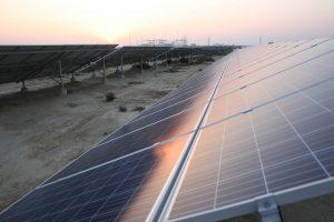 巴基斯坦的太阳能发电厂。图片来源:Alamy