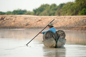 Fishing on Tonle Sap Lake, Cambodia (Image: Alamy)