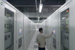 安鑫储能科技有限公司位于苏州的储能设备。图片来源:凯文•舒恩马克斯