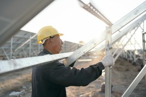 solar panel installation in Datong