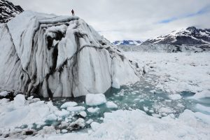 US-based photographer James Balog spent six years recording melting glaciers (Image copyright: James Balog)