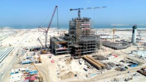construction site of the China-funded Hassyan Clean Coal project in Dubai,