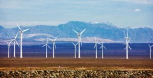 Dabancheng Wind Farm, Xinjiang Uyghur Autonomous Region, China