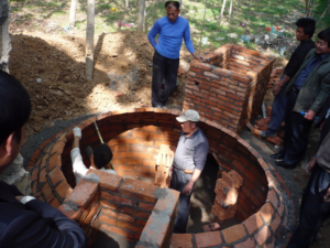 china biogas digester training