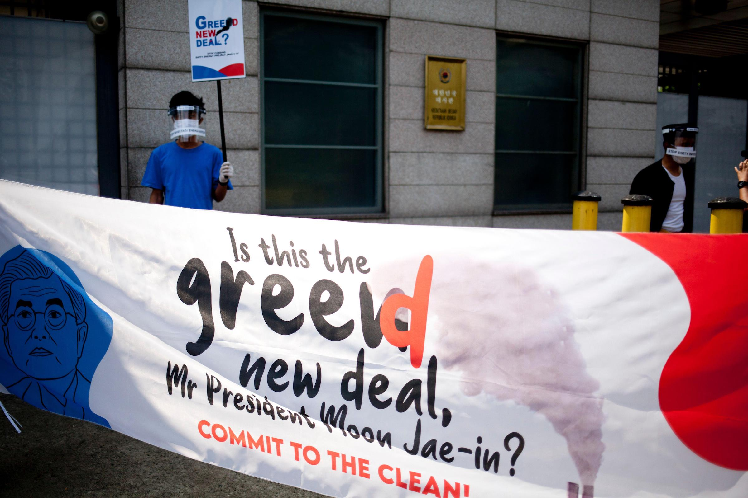 The substance of a Korean Green New Deal is still being defined