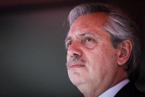 Alberto Fernández (Image: Alamy)