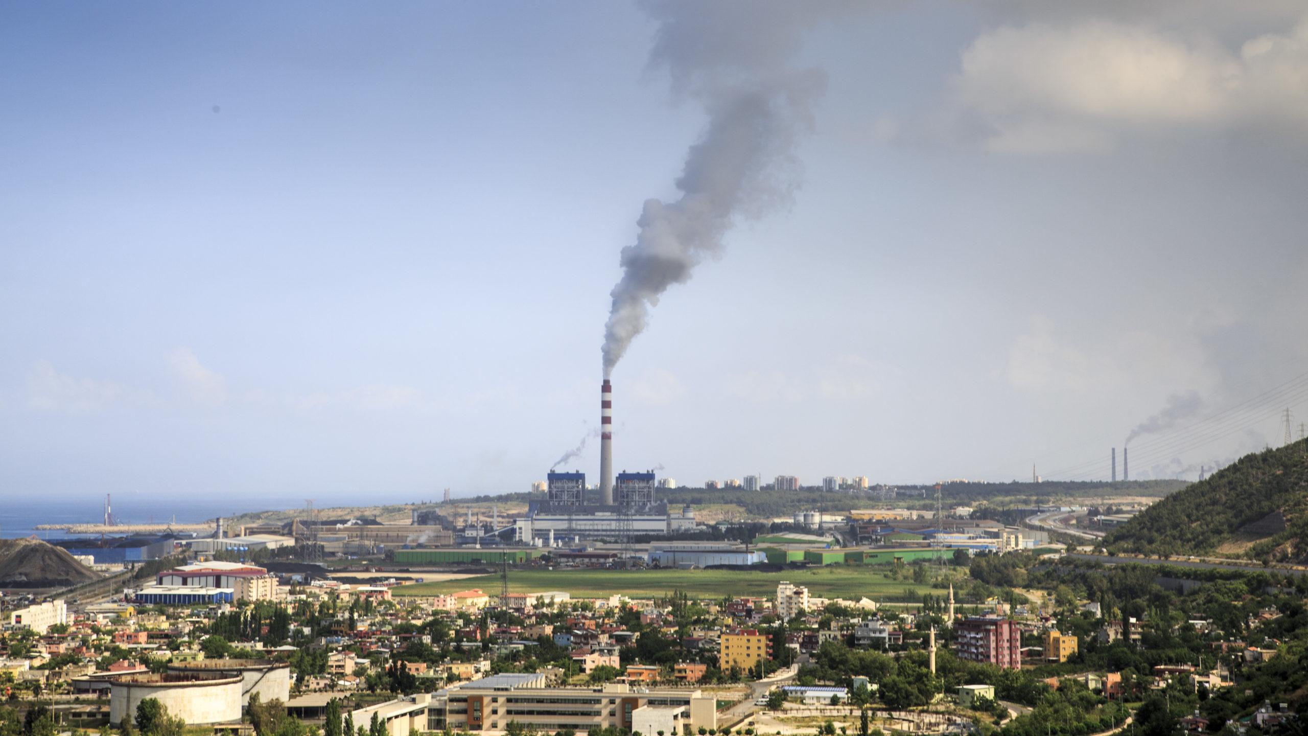 The 1.2GW Diler Atlas coal power plant in Iskenderun