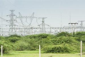 Myanmar electrical substation Thazi township