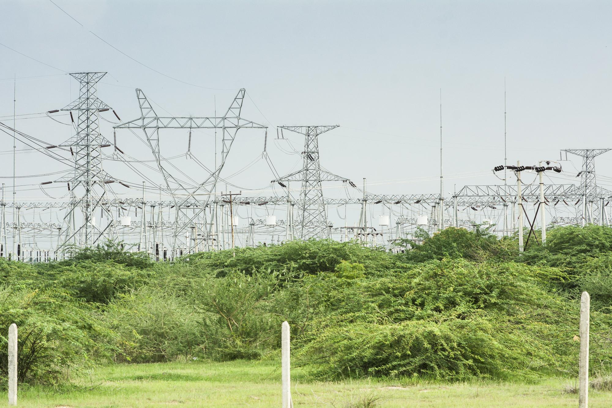 Myanmar electrical substation Thazi township