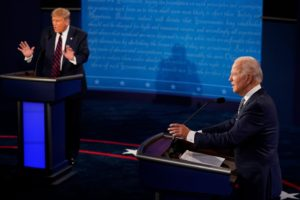 trump biden ehe first presidential debate in Cleveland 2020