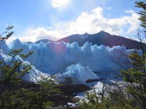 glacier perito morena patagonia dams