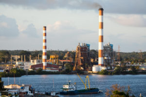 carlos manuel cespedes thermoelectric plant in cuba