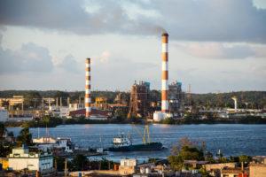 The Carlos Manuel de Cespedes thermoelectric power plant, Cienfuegos, Cuba (Image: Alamy)