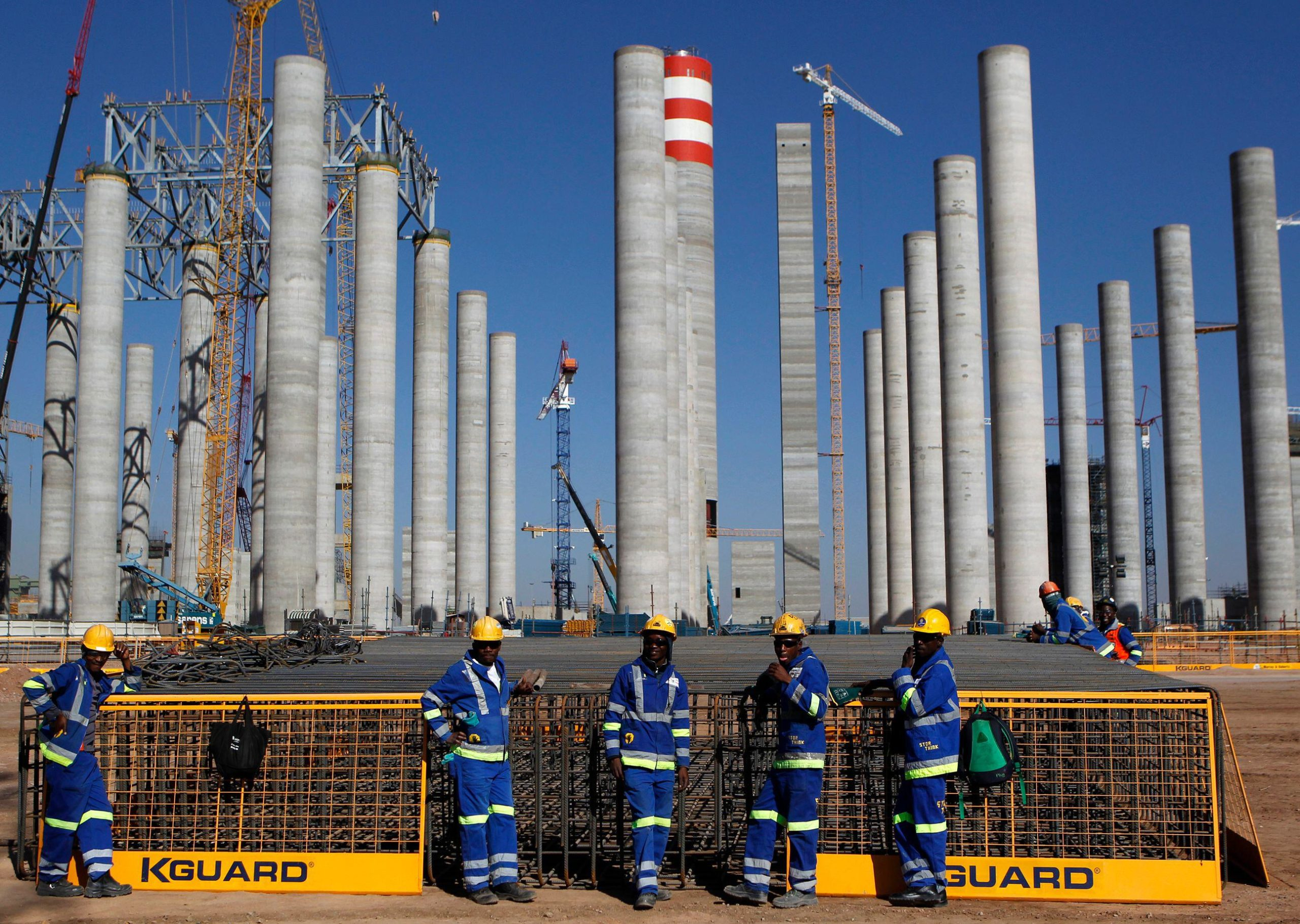 South Africa's budding carbon emitter