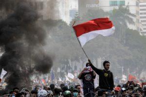 Indonesia omnibus bill protests