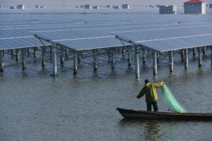 Solar-aquaculture project