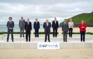 G7 leaders meet in the UK ahead of COP26 summit