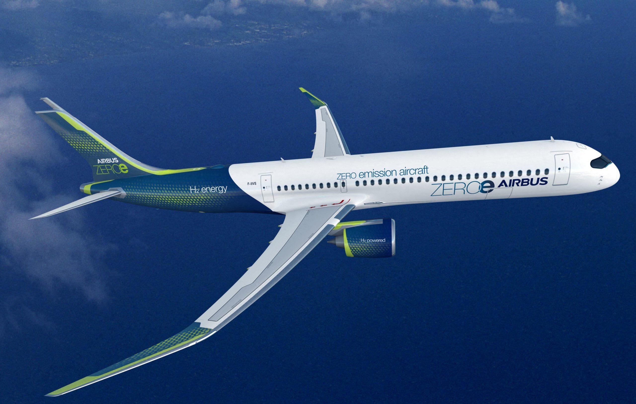 ZEROe Airbus concept aircraft