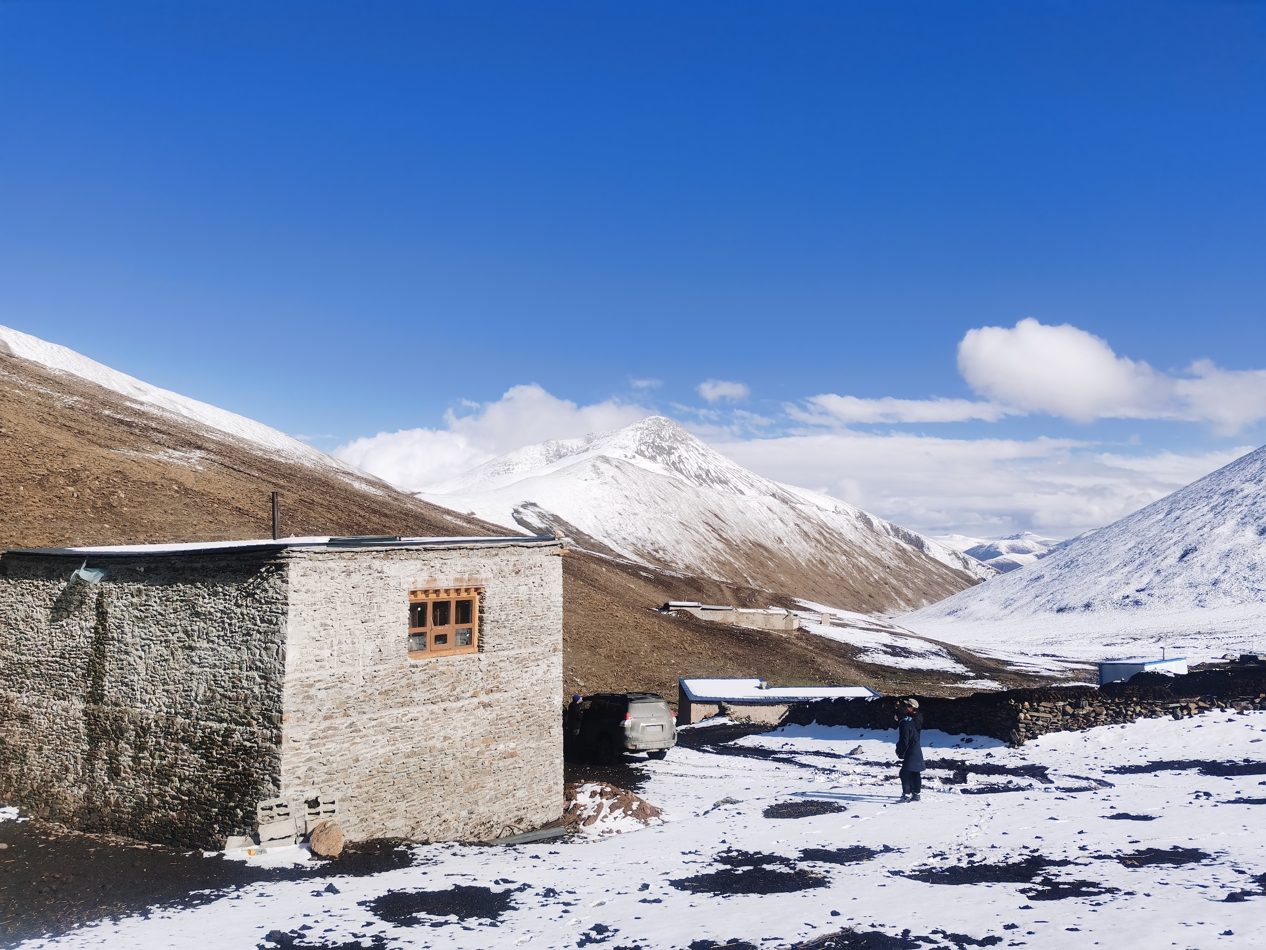 """A pilot """"bear-proof house"""" in Ganda village, Qinghai province (Image: Snowland Great Rivers Environmental Protection Association)"""