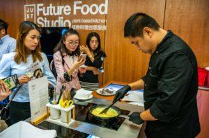 Plant-based kitchen in Shanghai, China